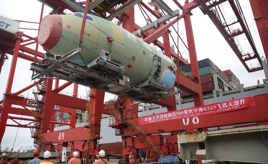 天津港集团产业结构